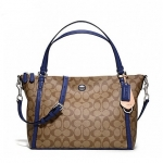 กระเป๋า COACH PEYTON SIGNATURE EAST/WEST CONVERTIBLE SHOULDER BAG F27020