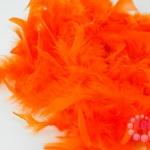 ขนนกเฟอร์ สีส้ม