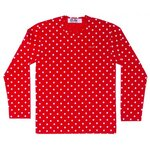 Play Polka Dot T-Shirt (Red/White) Men`s