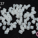 เม็ดบีทรีดร้อน สีขาวใส 5 มิล (1ขีด/1,775ชิ้น)