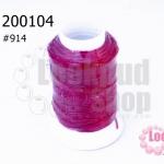 เชือกเทียน ตราลูกบอล(ม้วนเล็ก) สีบานเย็น 914(1ม้วน)