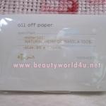 Ettusais oil off paper (กระดาษซับมัน)
