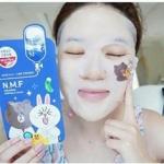 Medi Heal Line Friend Mask ไลน์ คอลเลคชั่น แคปซูลมาส์ค แบบแผ่น 4 แบบ ที่ช่วยบำรุงผิวหน้าของคุณ ในแบบที่แตกต่างกัน ถ้าคุณเป็นแฟนคลับ Line ไม่ควรพลาด 10 แผ่น คละแบบได้