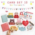 Say You Love Me Card set_x10