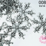 จี้โรเดียม เกล็ดหิมะ 30x21 มิล