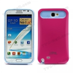 Case Samsung Galaxy Note 2 i-Glow / Pink
