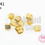 บานพับ สีทอง 6X8มิล (10ชิ้น)