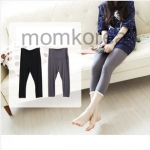 PK049  กางเกงคนท้องแฟชั่น มี 2 สี ให้เลือก ปลายขาแต่ด้วยลูกไม้ เอวมีที่เลื่อนได้ตามอายุครรภ์ เนื้อผ้านิ่ม ใส่สบายค่ะ