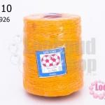 เชือกเทียน ตราลูกบอล(ม้วนใหญ่) สีเหลือง 926 (1ม้วน)