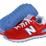  New Balance 574 Yacht Club/Red Blue