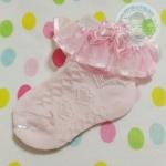 ถุงเท้าเด็กมีระบาย ไซส์ 10-12 ซม. MSC31