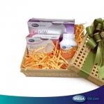 MEGA We Care Set Beauty เซ็ทอาหารเสริมผิวขาวใส พร้อมกระชับ และชุ่มชื่น ประกอบด้วย Nat C , Glow collagen , Rivita