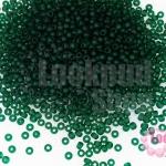 ลูกปัด Miyuki สีเขียวหม่น #158F 2มิล(10กรัม)