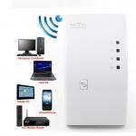 สุดคุ้ม ดูดสัญญาณ WiFi ง่ายๆ แค่เสียบปลั๊ก Best Wireless-N Router 300Mbps Universal WiFi Range Extender Repeater High Speed (White)