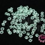 คริสตัลสวารอฟสกี้ (SWAROVSKI) สีเขียวอ่อน(238) 3มิล(100เม็ด)