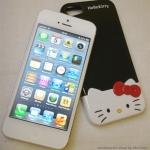 ** พร้อมส่งค่ะ ** เคส iPhone 5/5s Hello Kitty สีดำ