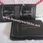 impress powder foundation + makeup base # oc-c (ขนาดทดลอง)