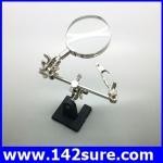 DLT021 กล้องส่องขยาย กล้องขยายชิ้นงาน พร้อมขาตั้งและที่จับยึด Vise Clip Tool Magnifying Glass