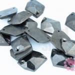 เพชรสอยสีรมดำ หกเหลี่ยม2รู 16X20มิล (170ชิ้น)