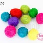 ลูกบอล Feit 15มิล #3 คละสี (5ลูก)