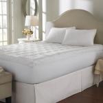 Topper แผ่นรองที่นอนขนห่านเทียมผสมไมโครเจล ยกระดับการนอนของคุณให้เหมือนโรงแรม 5 ดาว นุ่มมาก นอนเย็นสบายที่สุด สามารถซักได้ พับและม้วนเก็บง่าย น้ำหนักเบา สามารถเป็นที่นอน ปิคนิคก็ได้