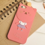 ** พร้อมส่งค่ะ ** เคส iPhone 5 MOMO 's Blog ลาย Honey Bear สีชมพู