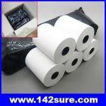 PTH015 จำนวน50 ม้วน กระดาษความร้อน กระดาษเครื่องพิมพ์ใบเสร็จ Thermal Papar กระดาษใบเสร็จ ขนาด2″ 57 mm. เส้นผ่านศูนย์กลาง45 มม. ยาว24เมตร (เกรด A จากญี่ปุ่น)