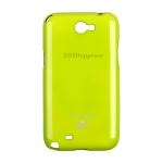 Case Samsung Galaxy Note 2 Mercury Jelly / Green