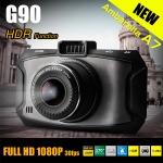 กล้องติดรถยนต์ G90 Ambarella A7 1080P Full HD เลนส์ Wide 170 องศา