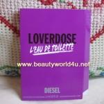 น้ำหอม diesel loverdose edt 1.5 ml. (ขนาดทดลองแบบหลอด)
