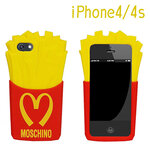 ** Pre-order **  เคส iPhone 4/4S Moschino French Fries