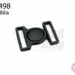 ตะขอเกี่ยว พลาสติก สีดำ 20X28มิล(1ชิ้น)
