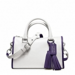 กระเป๋า  COACH  ARCHIVAL TWO TONE  SATCHEL F23418
