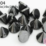 หมุดแหลม สีรมดำ 9X10มิล(1ขีด/286ชิ้น)