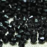 คริสตัลพลาสติก สีดำ 4มิล (4,509เม็ด)