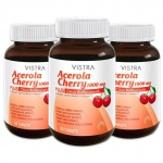 Vistra Acerola Cherry 1,000 mg. (60 เม็ด x3ขวด)
