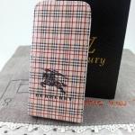 Case iPhone 5 Burberry Flip Case สินค้าลดราคา 150 บาท