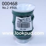 เชือกเทียน ตรากีตาร์(ม้วนเล็ก) สีเขียว916 (1ม้วน)