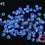 คริสตัลสวารอฟสกี้ (SWAROVSKI) สีน้ำเงินอมม่วง(206) 3มิล(100เม็ด)