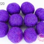 ลูกบอล Feit 25มิล #1 สีม่วงอ่อน (5ลูก)