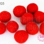 ลูกบอล Feit 20มิล #2 สีแดง (5ลูก)