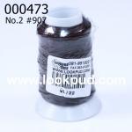 เชือกเทียน ตรากีตาร์(ม้วนเล็ก) สีน้ำตาล907 (1ม้วน)