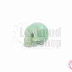 หินหยกเขียว หัวกระโหลก กลาง (1ชิ้น)