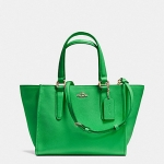 กระเป๋า COACH CROSBY MINI CARRYALL IN CROSSGRAIN LEATHER F33996