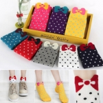 Candy Bow Socks_x6