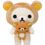 ตุ๊กตา KORILAKKUMA ชุดหมีน้อย (I LOVE RILAKKUMA)