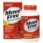 Schiff Move Free Triple Strength (120 Tablets) อาหารเสริมบำรุงกระดูก แก้อาการปวดกระดูก ปวดเข่า เสริมสร้างความแข็งแรง ยืดหยุ่นให้กับข้อต่อต่างๆ