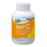 Mega We Care nat C วิตามินซี 1000 mg 60 เม็ด สร้าง ภูมิคุ้มกันภูมิแพ้ ชลอโรคต้อกระจก และโดยเฉพาะ บำรุงผิวพรรณ ทำให้ผิวใส สร้างคอลลาเจน