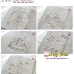 ผ้าลินินเกาหลี เป็นผ้าลายปัก รูป Ann of Green Gabel มี 5 ลายใน 1 แถว เหมาะสำหรับ นำไปแต่งหมอนอิง ปะหน้ากระเป๋า ตกแต่งชิ้นงานตามความคิดสร้างสรรค์