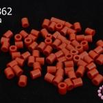 เม็ดบีทรีดร้อน สีน้ำตาลแดง 5 มิล (1ขีด/1,820ชิ้น)